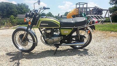 Honda : CB 1974 honda cb 200