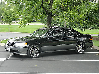 Acura : RL SE Sedan 4-Door 98 acura rl 3.5 special edition low miles 2 sets of custom wheels tires