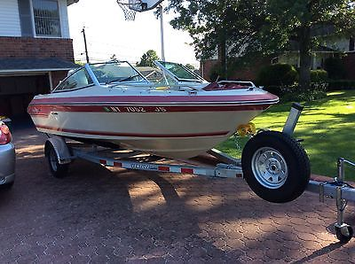 1988 Searay 17' Outboard, with brand new trailer