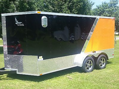7' X 14' Enclosed Trailer with the Harley Look!