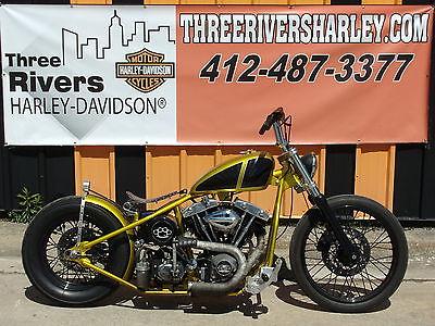 Custom Built Motorcycles : Bobber Custom Built Special Construction Shovel Head Bobber