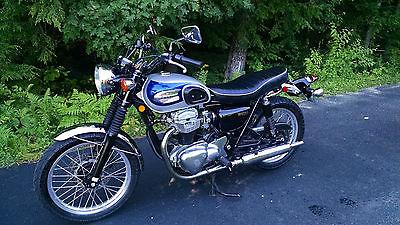 Kawasaki : Other 2001 kawasaki w 650 ej 650