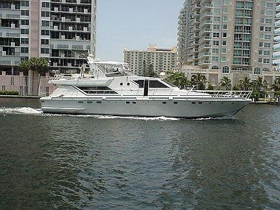 Motoryacht 1985 Guy Coauch  72'  Tennessee River TN.  Cruiser Diesel Boat Yacht