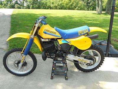 Suzuki : RM 1982 suzuki rm 465