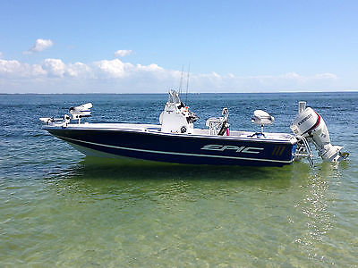 22ft Flats & Bay fishing boat EPIC 22SC with 150 H.P. Loaded Demo priced to SELL