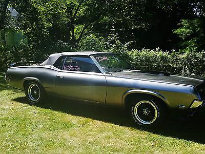 Mercury : Cougar XR7 1969 mercury cougar xr 7 conertible nice car one of a kind