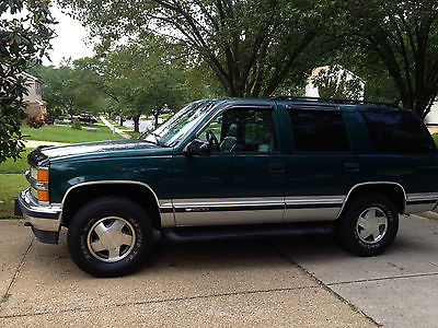 Chevrolet : Tahoe LT Sport Utility 4-Door 1997 chevorlet tahoe