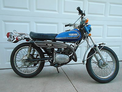 Yamaha : Other Vintage RARE 1973 Yamaha AT-1 125 Electric Start Enduro Motorcycle