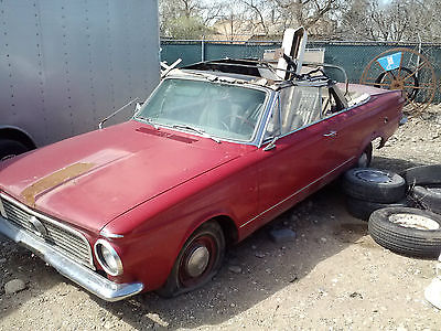 Plymouth : Other Signet 1963 plymouth valiant canadian mopar barn find