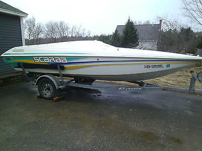 WELLCRAFT SCARAB SPRINT 19' SPEED BOAT EXTRA CLEAN, FUN ,FAST , CHEAP ON GAS