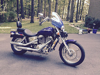 Honda : Shadow 2002 honda shadow spirit motorcycle super nice well maintained l k