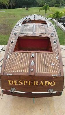 1935 Garwood Boat 25' - Antique Wooden Boat!