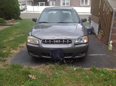 Hyundai : Accent GL Sedan 4-Door 2001 1.6 l gl sedan 4 dr gray