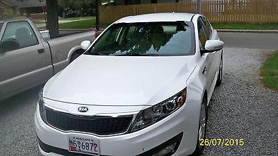 Kia : Optima LX 2013 kia optima lx one owner dealer maintained 4 door sedan white