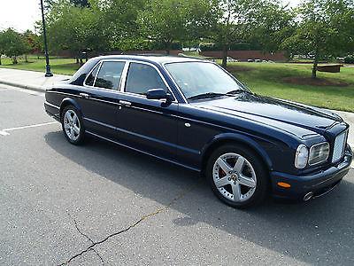 Bentley : Arnage T Sedan 4-Door Rare Blue Color with paperwork