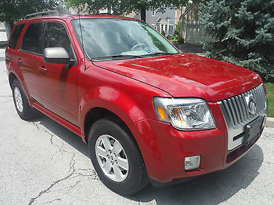Mercury : Mariner Premier 2010 mercury mariner premier v 6 low miles
