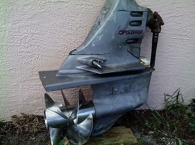 VOLVO PENTA SX DUO PROP OUTDRIVE w/ 180 HRS