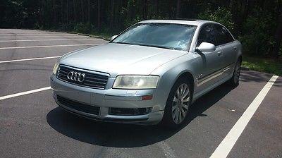 Audi : A8 RS 2004 audi a 8 rs quattro l 4.2 l runs and drives mechanics special needs work