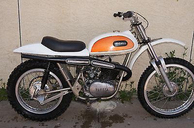 Yamaha : YZ Harry Hindall 1970 Yamaha DT1 250 motocross YZ MX custom frame Hallman HL500