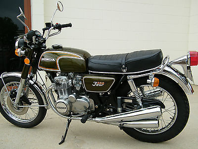 Honda : CB 1972 honda cb 350 f with only 1376 original miles incredible bike time capsule
