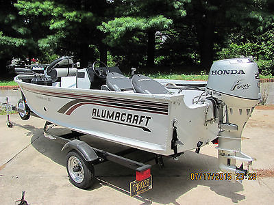 15' alumacraft fishing boat