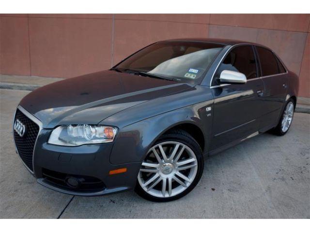 Audi : S4 QUATTRO AWD STUNNING 07 AUDI S4 V8 QUATTRO AWD NAV XENON BOSE HEATED SEATS CARFAX CERTIFIED