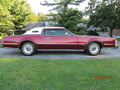 Lincoln : Mark Series Base Coupe 2-Door 1976 lincoln mark iv base coupe 2 door 7.5 l