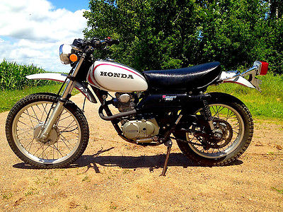 Honda : Other 1972 honda xl 250 all original 6600 mi