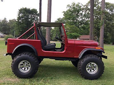Jeep : CJ base 2 door  1979 jeep cj 7 v 8