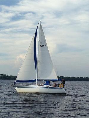 1986 Hunter 28.5 Sailboat, shoal draft, ready to daysailing or coastal cruising!