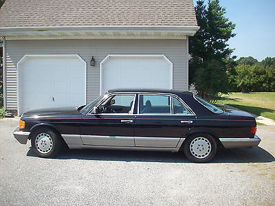 Mercedes-Benz : 500-Series 1986 mercedes benz 560 4 d sedan