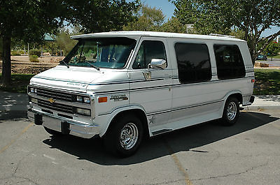 Chevrolet : G20 Van G20 1992 chevrolet g 20 starcraft conversion 0 ne owner van