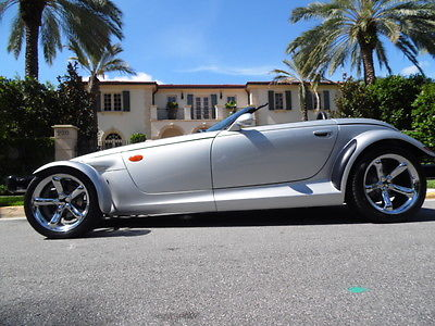 Plymouth : Prowler Base Convertible 2-Door ONE OWNER*BOOKS*KEYS*RECORDS*NO PAINT*CLEAN FAX*SILVER EDITION*FL*PERFECT*RARE!!