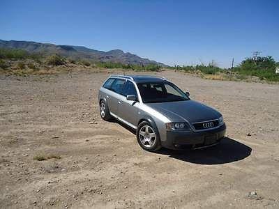 Audi : Allroad A6 Quattro 2001 audi allroad quattro base wagon 4 door 2.7 l