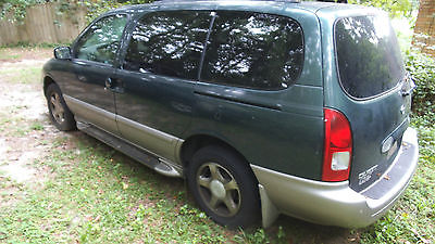 Nissan : Quest GXE Mini Passenger Van 4-Door 2001 nissan quest gxe mini passenger van 4 door 3.3 l