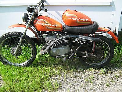Harley-Davidson : Other 1975 amf harley davidson sx 250 runs clear title 2 stroke aemacchi sx 250