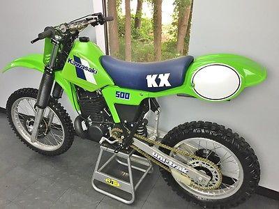1983//1984 Kawasaki KX 500 KX500 Rear Chain Guide w// Rub