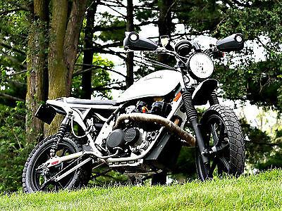 Custom Built Motorcycles : Other 1981 kawasaki kz 550 resto motard street tracker yamaha suzuki honda