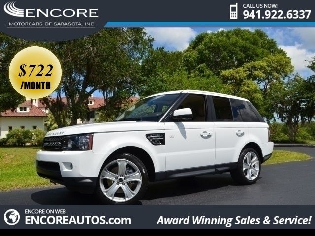 Land Rover : Range Rover Sport HSE LUX 2012 land rover range rover sport hse sunroof dvd s navigation 1 fla owner