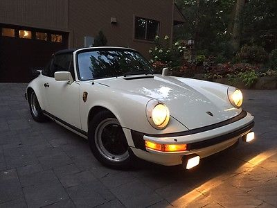 Porsche : 911 SC Targa 2-Door 1982 porsche 911 sc targa 2 door 3.0 l