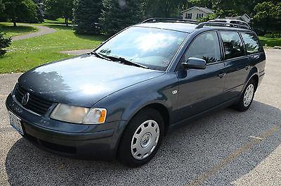 Volkswagen : Passat GLS 4 Motion Wagon 4-Door 2001 volkswagen passat gls 4 motion wagon heated leather seats sunroof