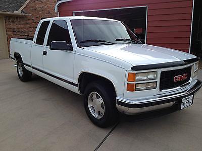 GMC : Sierra 1500 SLT 1996 gmc c 1500 slt truck