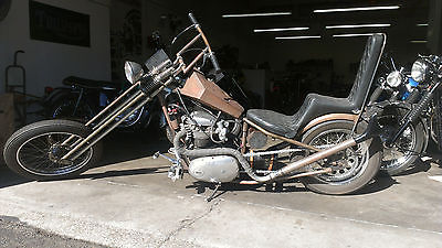 BSA : BSA 1974 bsa a 65 650 classic springer chopper not harley chopper