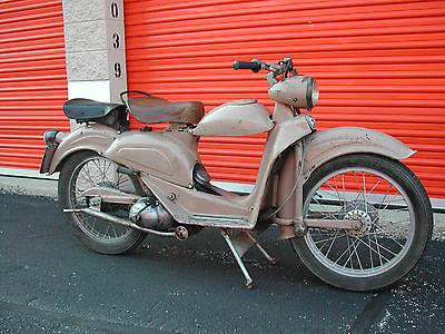 Other Makes : AERMACCHI 1951 aermacchi 125 n cigno scooter