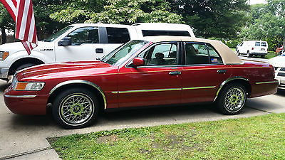 Mercury : Grand Marquis GS 2000 mercury grand marquis 12 150 miles 1 owner