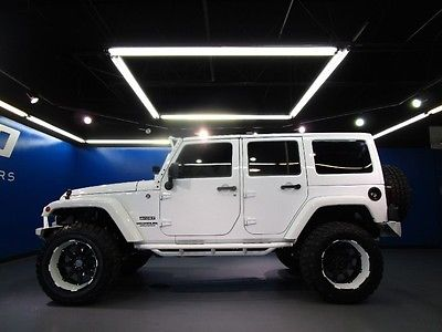 Jeep : Wrangler Sport Jeep Wrangler Unlimited SPORT 4WD Custom Bumpers LED 20inch Wheels 60Miles!