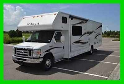 2014 Winnebago Itasca Spirit 31H 33' Class C RV Ford E450 2 Slide Outs Bunk Beds