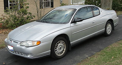 Chevrolet : Monte Carlo LS 2-door coupe 2000 chevrolet monte carlo ls 2 door coupe 3.4 l v 6