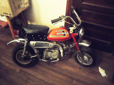 Honda : XR 1975 honda z 50 rare ruby red holy grail complete collectible minitrail