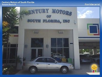 Buick : Century Custom NIADA Certified Clean CarFax Power Windows Locks Mirrors Cruise Control Cloth Clean CarFax 3.1L V6